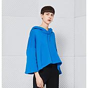 2017年春新しいヨーロッパとアメリカの女性' sの大きいサイズ緩いフード付きのヘッジ長袖のセーター