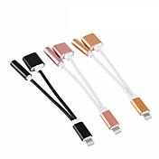USB 2.0 Portable Adaptador Para Apple iPhone 15 cm Aluminio TPE