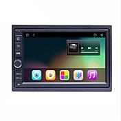 bonroad 7 2DIN 1024 * 600ラジオのステレオ・オーディオ・プレーヤー(なしDVD)BT日産のGPSナビゲーションのための普遍的なアンドロイド6.01車のタップのPCタブレット2 DIN