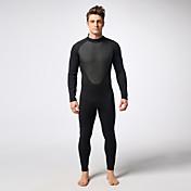 MYLEDI Hombre 3mm Trajes térmicos Traje de neopreno completo Impermeable Mantiene abrigado Listo para vestir Cremallera YKK Neopreno