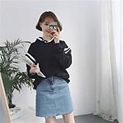 本物のショット!緩いフード付きのヘッジ厚手のセーターのコートと冬の新しい韓国語版