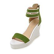 Sandály-Flís Personalizované materiály-Pohodlné Novinky klub BotyČerná Žlutá Zelená Růžová Béžová-Outdoor Šaty Běžné