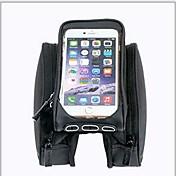 ROSWHEEL® 自転車用バッグ OtherL自転車用フレームバッグ 速乾 耐衝撃性 耐久性 自転車用バッグ テリレン サイクリングバッグIphone 6/IPhone 6S/IPhone 7 Iphone 6 Plus/6S Plus/7 Plus iPhone 5 C