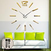 Retro Reloj de pared,Redondo Acrílico Otros 31*39 Interior Reloj