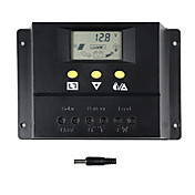 60a controlador de carga del interruptor automático y solar solar 24v 12v para 60i de paneles solares