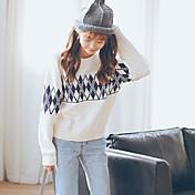 2016年秋と冬の女性の新しい韓国の秋の女性の緩い長袖プルオーバー