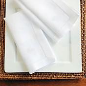 Cuadrado Bordado Servilleta , Lino MaterialHotel Dining Tabla Decoración del banquete de boda Cena banquete de la boda Decoración de