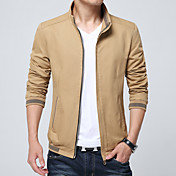 2016 primavera y otoño nuevos hombres&# 39; s abrigo chaqueta hombres jóvenes&# 39; s informal coreana delgada sección delgada