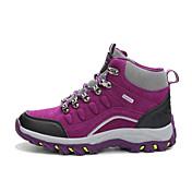登山靴 男女兼用 アンチスリップ 耐摩耗性 快適 ハイカット レザーレット