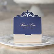12 Piezas / Juego Soporte para regalo -Cúbico Papel de tarjeta Cajas de Regalos Personalizado