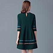 ヨーロッパGP 2017春と秋の新しいファッション緩いビッグヤード脂肪ミリメートル人形のドレスを底単語をスカートを底打ち