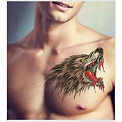 2 タトゥーステッカー 動物シリーズ Non Toxic パターン女性 男性 青少年 フラッシュタトゥー 一時的な入れ墨