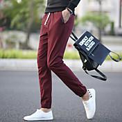 los hombres de otoño&# 39; s casual pantalones harén pantalones de los pies delgados de los pantalones deportivos pantalones de