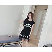 # 2016 verano nuevo vestido largo de gasa sección fake de dos piezas casual hembra gasa zhitong qun