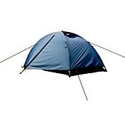 2 Personas Tienda Doble Carpa para camping Una Habitación Tiendas de Campaña para Senderismo A Prueba de Humedad Bien Ventilado Rapidez