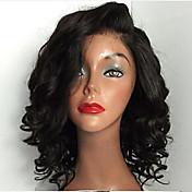 ホット!!短いブラジルのバージン毛フルレースかつら、人間の髪の毛は、8-24カーリーレースフロントウィッグをウィッグ