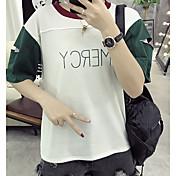 Signo cvc lycra algodón nuevo color-agujero manga camiseta mujeres
