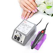 Manicura profesional máquina de pulir eléctrica 20000rpm herramientas eléctricas clavo herramientas de uñas de rotación tasa de rotación