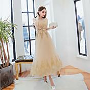vestido de noche de 2016 nuevas toastmasters vestido de dama de vestido tostadas ropa de primavera vestido delgado oportunidad real