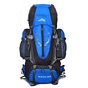 85 L バックパッキング用バックパック 登山 キャンピング&ハイキング 防雨 防塵 多機能の