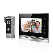 7 pulgadas teléfono video de timbre video de pantalla para intercome de portero