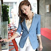 秋韓国女性カジュアルな女性の小さなスーツジャケット女性の袖のスーツ女性野生の栽培