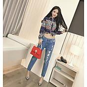 春新韓国ファッションスリム薄いワイルドカラーシャツ長袖シャツリアルショット