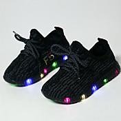 Chico-Tacón Bajo-Confort Primeros Pasos Light Up Zapatos Zapato luminosa-Zapatillas de deporte-Exterior Informal Deporte-Tul-