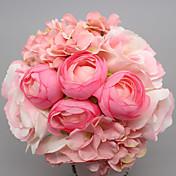 1Piece / Set 1 Rama Seda Rosas Flor de Mesa Flores Artificiales