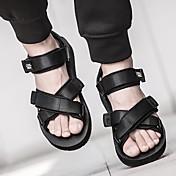 Sandály-Látka-S páskem-Pánské--Outdoor Běžné-Plochá podrážka
