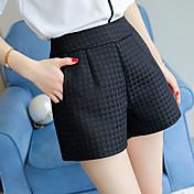 Dámské Moderní Kalhoty chinos Kalhoty Volné Široké nohavice High Rise Pléd