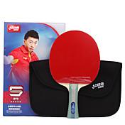 5 Estrelas Ping Pang/Tabela raquetes de tênis Ping Pang Madeira Cabo Comprido Espinhas