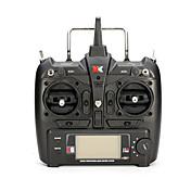 XK XK トランスミッタ/リモコン RCクワッドローター RCヘリコプター ブラック ABS樹脂