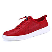 Muške Sneakers Proljeće Jesen Udobne cipele PU Aktivnosti u prirodi Ležeran Atletika Ravna potpetica Na točkice