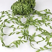 20meter svileni list u obliku umjetnog zelenog lišća za vjenčanje dekoracija diy vijenac dar scrapbooking obrt lažni cvijet