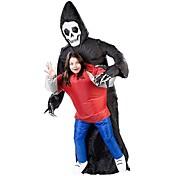 Cosplay Kostumer Halloweentillbehör Maskerade Oppustelig Vandtæt Skelet/Kranium Film Cosplay Trikot/Heldragtskostumer LuftblæserHalloween