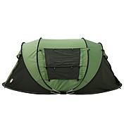 3 a 4 Personas Tienda Doble Carpa para camping Tienda pop up 2000-3000 mm para Camping Viaje-200*280*120 CM Una Habitación