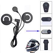 Freedconn mini usb motocykl interkom příslušenství měkké sluchátko sluchátko mikrofon pro fdc-01vb t-comvb tcom-sc colo tcom-02