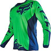 キツネのバイクオフロードTシャツ長袖ライディングスーツオフアウトスポーツスポーツカジュアルウェア