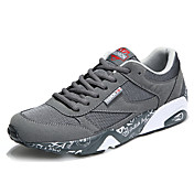 HombreConfort-Zapatillas de Atletismo-Exterior Informal Deporte-PVC Tejido-Negro Gris