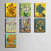 名画 クラシック 欧風,1枚 キャンバス 縦長 版画 壁の装飾 For ホームデコレーション