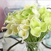 10 Afdeling Reel strejf Calla-lilje Bordblomst Kunstige blomster