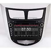ボーナス7クアッドコア1024 * 600アンドロイド6.0車のDVD gpsプレーヤーsolaris vernaアクセント車pcヘッドユニットカーラジオビデオプレーヤーのナビゲーション