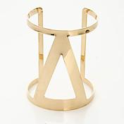 Dame Manchetarmbånd Mode Legering Geometrisk form Smykker For Bryllup Fest Speciel Lejlighed 1 stk