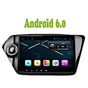 bonroad android 6.0 ram2g rom16g車のDVDプレーヤーラジオのクワッドコアk2 rio 2010 2011 2012 2013 2014 2015 gpsナビゲーションカーステレオfm *