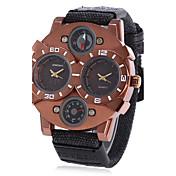 Pánské Dospělé Sportovní hodinky Módní hodinky Náramkové hodinky Unikátní Creative hodinky čínština KřemennýCompass Kalendář Voděodolné