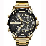 Hombre Reloj Deportivo Reloj Militar Reloj de Vestir Reloj de Moda Reloj de Pulsera Reloj Pulsera Reloj creativo único Reloj Casual Chino