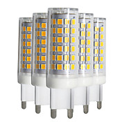9W Luminárias de LED  Duplo-Pin T 88 SMD 2835 750-850 lm Branco Quente Branco Frio Branco Natural Regulável V 5 pçs