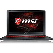 Ordenador portátil del juego del msi 15.6 pulgadas intel i5-7300hq 8gb ddr4 1tb hdd windows10 gtx1050ti 4gb gl62m teclado retroiluminado 7rex-1642cn
