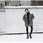レディース カジュアル 冬 コート,カジュアル ショールラペル 仕様 ロング コットン 長袖 特大の
